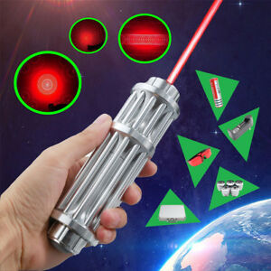 Usa Stock Red High Power Laser Pointer Pen 532nm Zoomable Laser With Whole Set