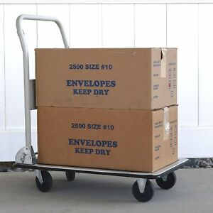 Pro Series Folding Platform Truck Warehouse Cart Delivery Dolly 330 Lb No Tax