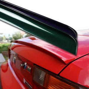 Fyralip Custom Painted Trunk Lip Spoiler For Volvo 740 Sedan 83 93