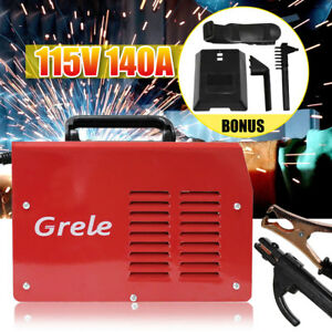 Handheld Mma Welder Stick Arc Dc Inverter Welding Machine Tool 115v 20 140a