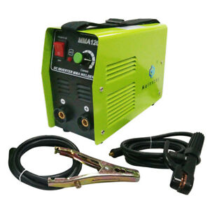 Handheld Mini Mma120 Electric 110v Inverter Welder Welding Machine Tool Portable