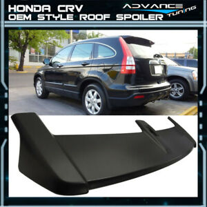 Fits 07 11 Honda Crv Cr v Oe Factory Style Rear Roof Top Spoiler Unpainted Abs