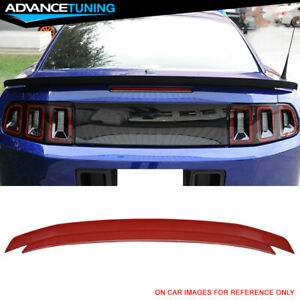 10 14 Ford Mustang Trunk Spoiler Oem Painted Color Race Red Pq