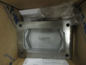 Crouse Hinds eaton Dsd957 Explosion Proof Blank Cover New