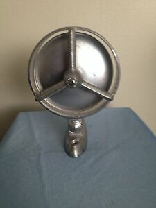 Vintage 1950s Yankee Side Rear View Car Mirror Adjustable Tri Bar Atomic Style