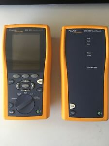 Excellent Fluke Dtx 1800 Cable Analyzer Warranty Fast Shipping