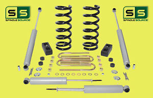 2001 2010 Ford Ranger 2wd 3 2 Lift Kit 6 Cyl Coil Springs rr Blocks 4 Shocks