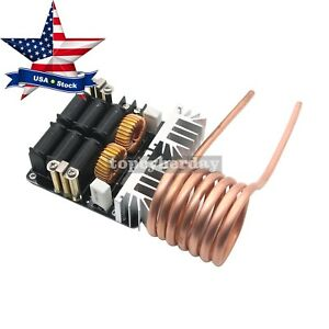 1000w 20a Zvs Low Volt Induction Heating Board Module Flyback Driver Heater Us