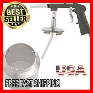 Pneumatic Air Undercoating Gun With Suction Feed Cup Also For Spraying Truck New
