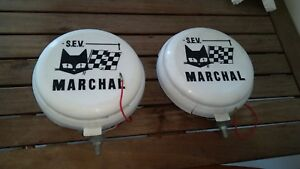 Vintage Sev Marchal Fog Lights And Covers Almost New Free Shipping