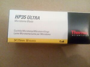Thermo Hp35 Ultra Microtome Blades 34 75mm 50 Blades High profile 3153735 No tax