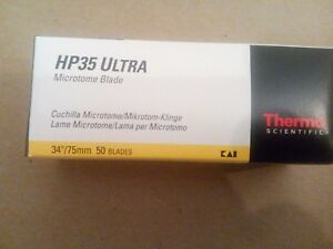 Thermo Scientific Hp35 Ultra Microtome Blades 34 75mm 50blades 3153735 No tax