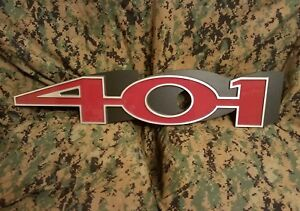 1971 71 1972 72 Amc Jeep Javelin Amx Jumbo Fender Emblem Wall Art V8 Engine