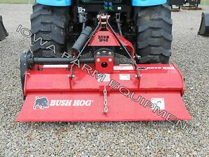 Rotary Tiller Bush Hog Rt60g 60 Gear Drive 3pt Pto Tiller 25 45hp made In Usa