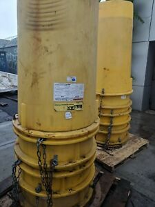 Bil Jax Trash Removal Chute System 100ft Yellow Great Condition Cheap