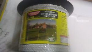 Baygard Parker Mccrory 00680 656 White High Visibility Electric Fence Tape