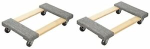 Truepower Hardwood Carpet End Furniture Dolly Mover s Dolly 3 Casters 1000