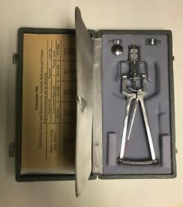 Schioetz Tonometer Improved Grafco 1234