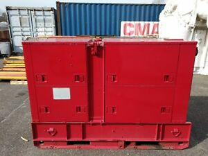 Libby Welding Co Mep 005a Diesel Generator 30 Kw Only 360 Hours Military