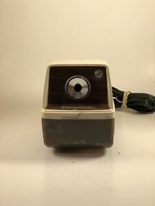 Vintage Panasonic Point o matic Electric Pencil Sharpener Kp 33 Tested 12
