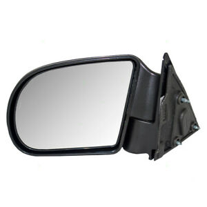 Blazer Hombre Jimmy S10 Pickup Truck Sonoma Drivers Side View Manual Mirror