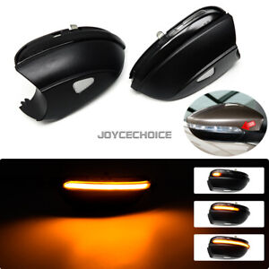 For Vw Passat B7 Cc Scirocco Jetta Mk6 Eos Led Dynamic Mirror Sequential Light