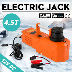 12v Hydraulic Floor Jack Electric Car Lift 9900lbs Equipment Truck Sedan Jack