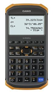 New Casio Civil Engineering Surveying Specialized Calculator Fx fd10 Pro Japan