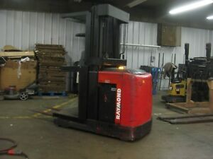 Used Raymond narrow aisle Electric Orderpicker Forklift