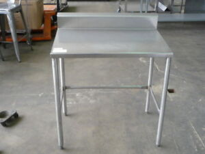 Used Stainless Steel Work Table 36 X 24