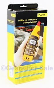 Fluke 772 Milliamp Process Clamp Meter New In Box