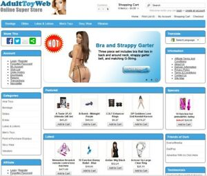 Adult Products Turnkey Website For Sale Established Domain Website