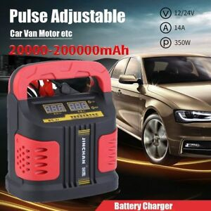 Battery Charger Auto Jump Starter Booster Portable Power Pack Us