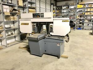 Hydmech S 23a Automatic Mitering Bandsaw 13 x18 Capacity 5 Hp 1 1 4 Blade