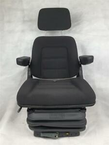 Basic Eco Universal Deutz Tractor Seat Robust Maintenance free Armrests Headrest