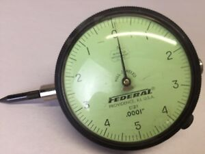 Federal Dial Indicator D21 Full Jeweled