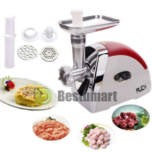 Electric Meat Grinder 1200w Kitchen Food Mincer Sausage Maker Home Appliances