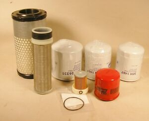 Kubota Rtv x900 Rtv x1100 Filter Kit Fits G a G h R And W Models Top Quality