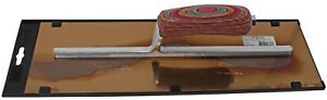 Kraft Tool Co 12 In X 3 In Carbon Steel Finishing Cement Trowel With Leather