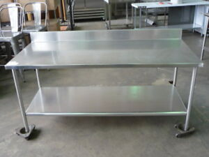 Used Stainless Steel Work Table 6 X 30