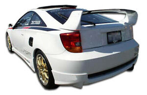 Duraflex Td3000 Rear Lip Under Spoiler Air Dam For 2000 2005 Toyota Celica