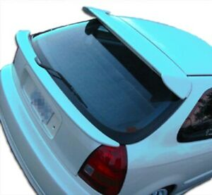 Duraflex Type R Roof Window Wing Spoiler 1 Piece For 1996 2000 Civic Hb