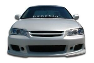 Duraflex B 2 Front Bumper Cover 1 Piece For 1998 2002 Honda Accord 4dr