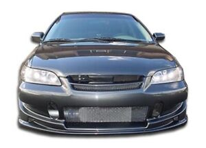 Duraflex Buddy Front Bumper Cover 1 Piece For 1998 2002 Honda Accord 4dr