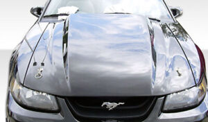 Duraflex Cowl Hood 1 Piece For 1999 2004 Ford Mustang