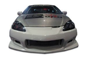 Duraflex C 2 Front Bumper Cover 1 Piece For 2005 2006 Acura Rsx