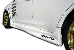 Duraflex Gt Concept Side Skirts 2pc For 2008 2015 Lancer Evolution 10