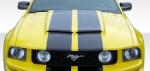 Duraflex Gt R Hood 1 Piece For 2005 2009 Ford Mustang