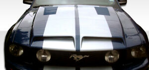 Duraflex Gt500 Hood 1 Piece For 2005 2009 Ford Mustang