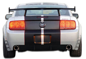Duraflex Gt500 Wide Body Rear Bumper Cover 1 Piece For 2005 2009 Ford Mustang